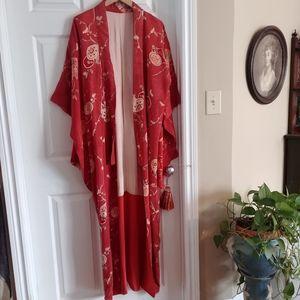 Antique Silk Kimono
